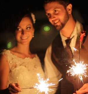 20 Inch Gold Wire Sparklers