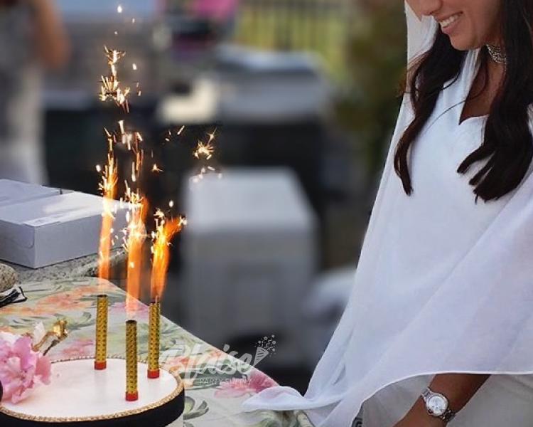 4 Inch Bottle Top Cake Sparklers