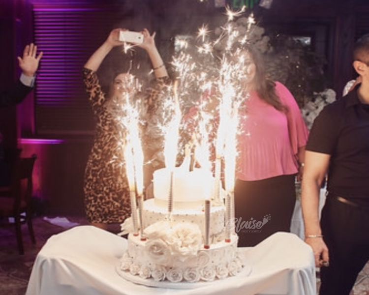 Four Inch Cake Sparklers