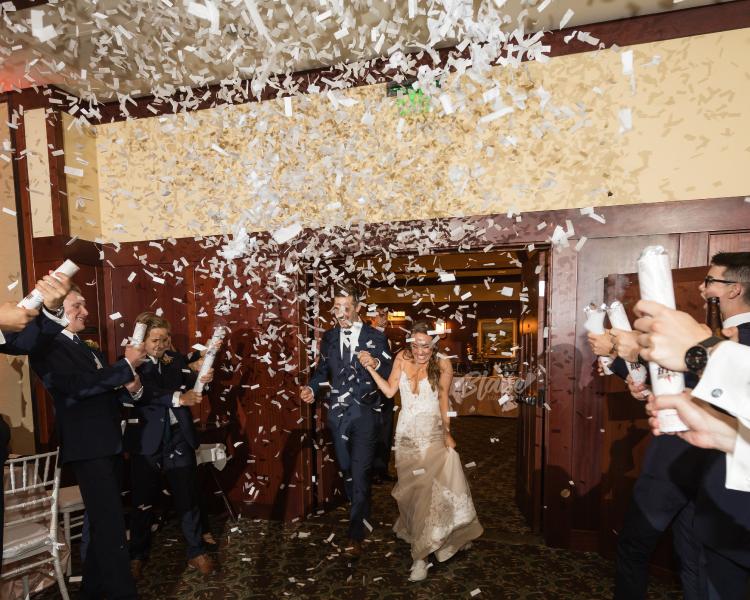 Trafalgar Group Trading Confetti Cannon Party Shooter Wedding Popper White 25cm