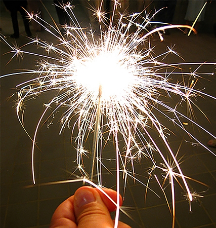 Kembang api Sparklers