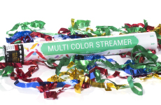 Multi-Color Metallic Streamer Cannon