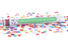 Multi-Color Round Confetti Cannon