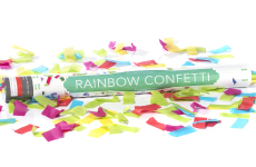 Multi-Color Confetti Cannon