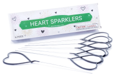 Heart Shaped Sparklers Wedding Packages