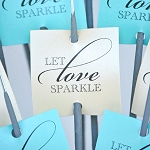 Let Love Sparkle (Square)