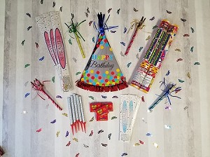 Birthday Sparklers Package