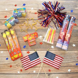 Patriotic Sparklers Party Package
