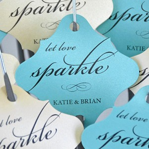 """Let Love Sparkle"" Custom Tags"